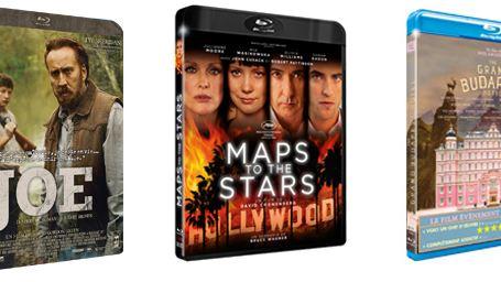 Maps To The Stars, Joe, The Grand Budapest Hotel... Les 10 blu-rays / DVD à se procurer d'urgence en septembre