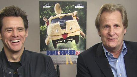 """Jim Carrey et Jeff Daniels sur Dumb and Dumber De: """"Il fallait qu'on fasse la suite !"""""""