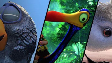 Piper, Kevin, les drôles d'oiseaux : les héros à plumes de Pixar