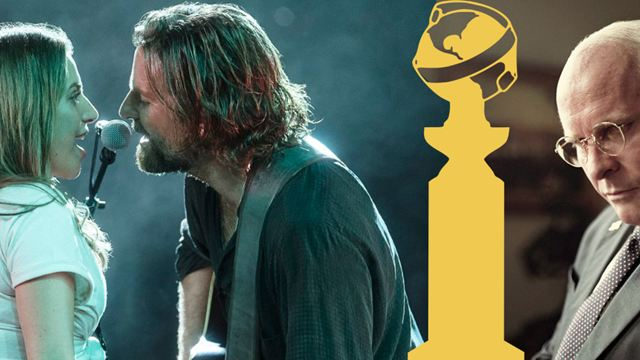 Golden Globes 2019 : Vice en tête des nominations cinéma, A Star is Born et The Favourite suivent de près