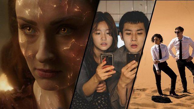 Parasite, X-Men Dark Phoenix, Men in Black International... La Rédac' débriefe les films du mois de juin [PODCAST]