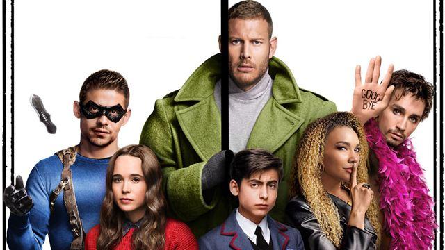 Umbrella Academy (Netflix) : les affiches de la saison 2 avec des héros perdus dans le temps