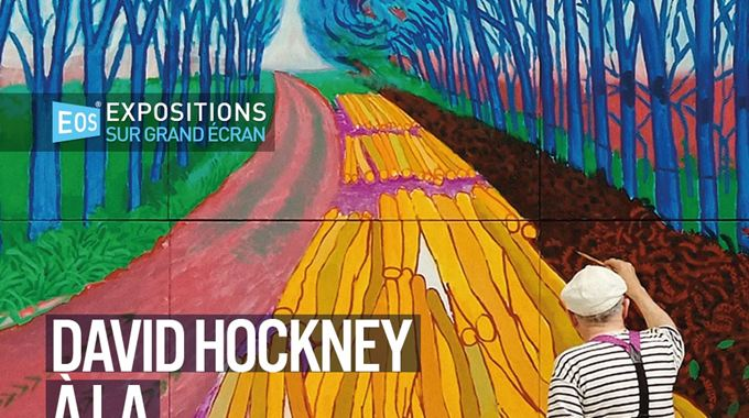 Photo du film David Hockney à la Royal Academy of Arts : A Bigger Picture 2012 & 82 Portraits and One Still Life 2016