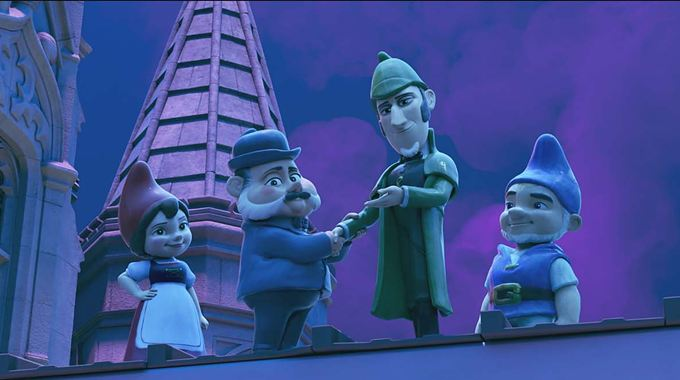 Photo 1 pour Sherlock Gnomes