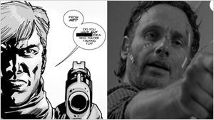 The Walking Dead : 10 parallèles bluffants entre la saison 6 et le comics d'origine !