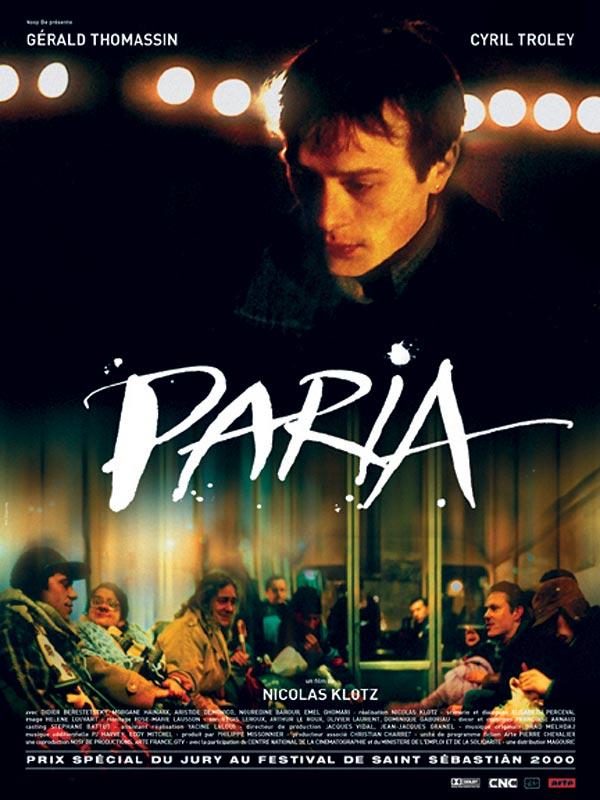 Paria : affiche Cyril Troley, Nicolas Klotz