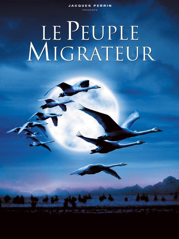 Le peuple migrateur : affiche Jacques Cluzaud, Jacques Perrin, Michel Debats
