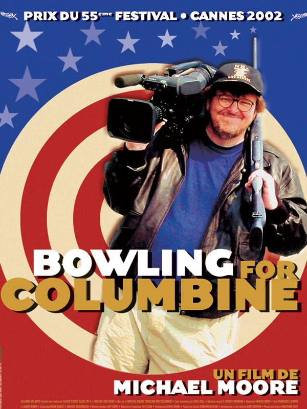 "bowling for colombine notes 'bowling for columbine' (2002) michael moore modes of documentary representation of ""reality"" presence of film makers (michael moore) conventions of documentar."
