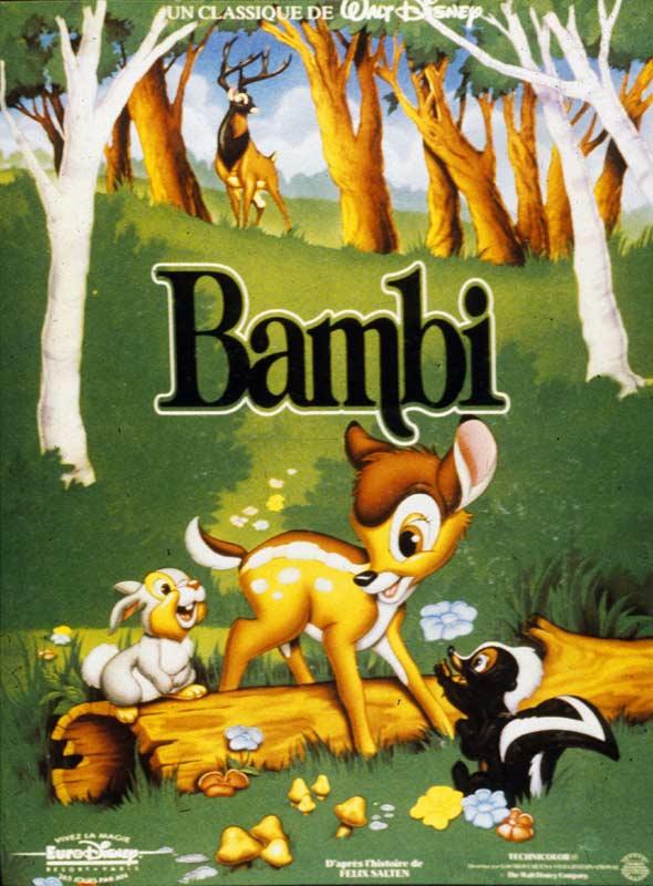 Bambi : Affiche