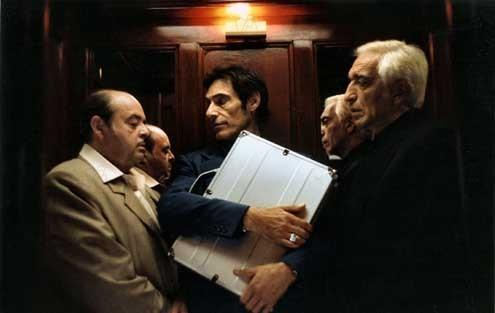 Les Parrains : Photo Frédéric Forestier, Gérard Darmon, Gérard Lanvin, Jacques Villeret