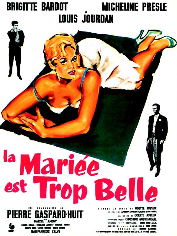 la mari e est trop belle film 1956 allocin. Black Bedroom Furniture Sets. Home Design Ideas