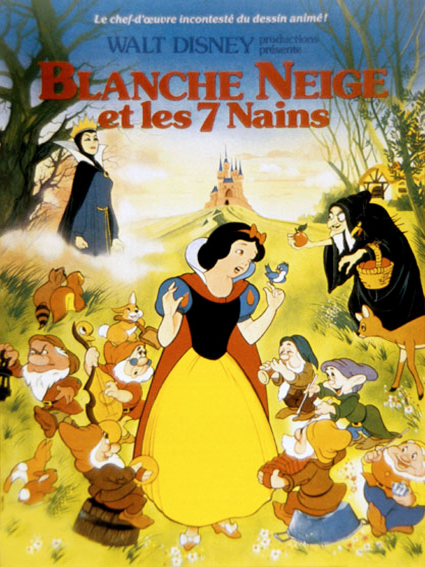 blanche neige et les sept nains film 1937 allocin. Black Bedroom Furniture Sets. Home Design Ideas