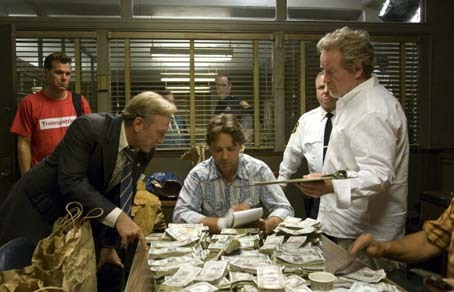 American Gangster : Photo Ridley Scott, Russell Crowe, Ted Levine