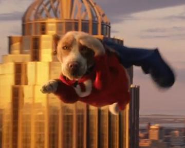 Chien Volant trailer du film underdog, chien volant non identifié - underdog