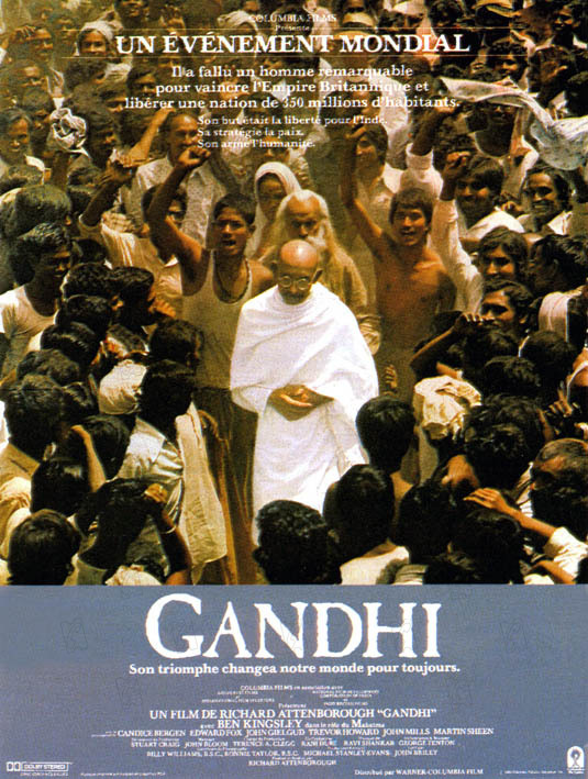 an analysis of the film gandhi The making of the mahatma is a 1996 joint indian - south african produced film, directed by shyam benegal, about the early life of mohandas karamchand gandhi (also known as mahatma gandhi, great soul) during his 21 years in south africa.