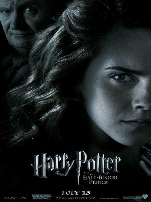 Harry Potter et le Prince de sang mêlé : Affiche David Yates, J.K. Rowling