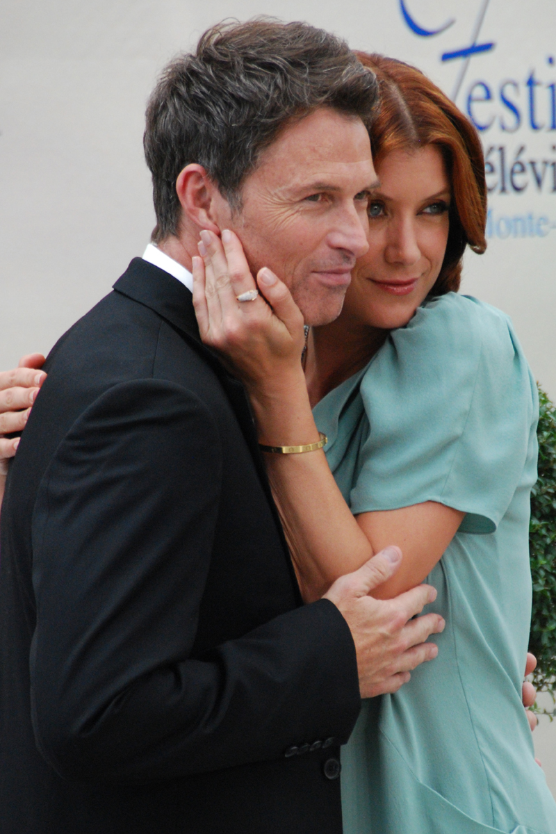 Displaying 19> Images For - Tim Daly Kate Walsh... Kim Cattrall