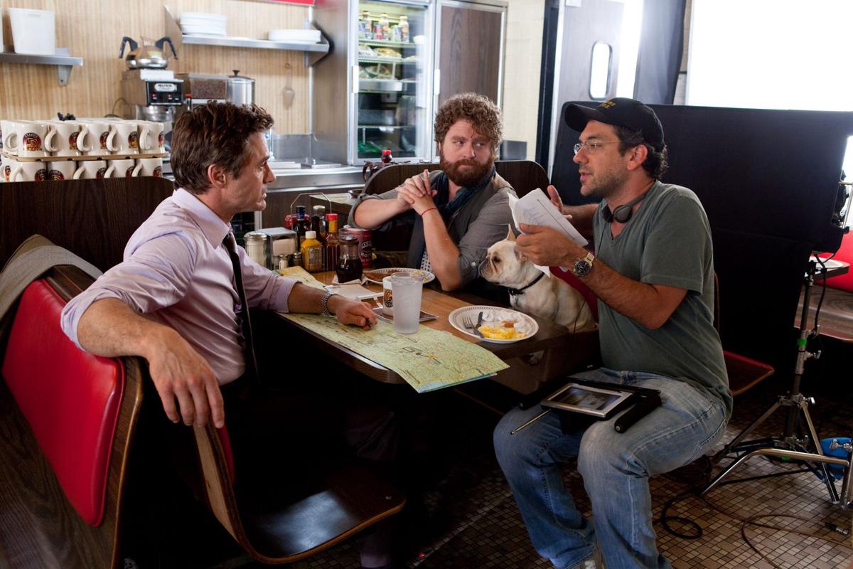 Date limite : Photo Robert Downey Jr., Todd Phillips, Zach Galifianakis