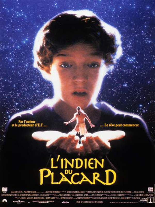 l' Indien du placard = The Indian in the Cupboard / réalisation de Frank Oz | Oz, Frank. Monteur