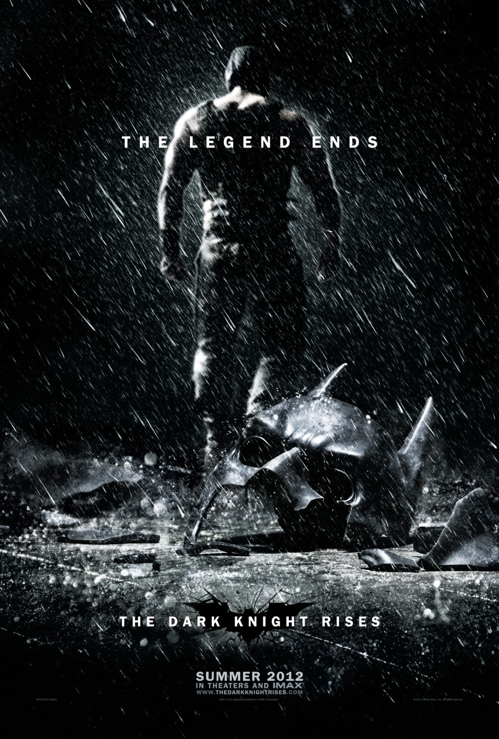 The Dark Knight Rises : Affiche Tom Hardy