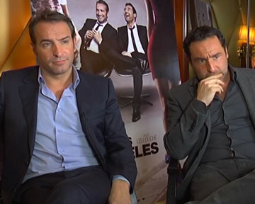 Interview jean dujardin jean dujardin gilles lellouche for Jean dujardin interview