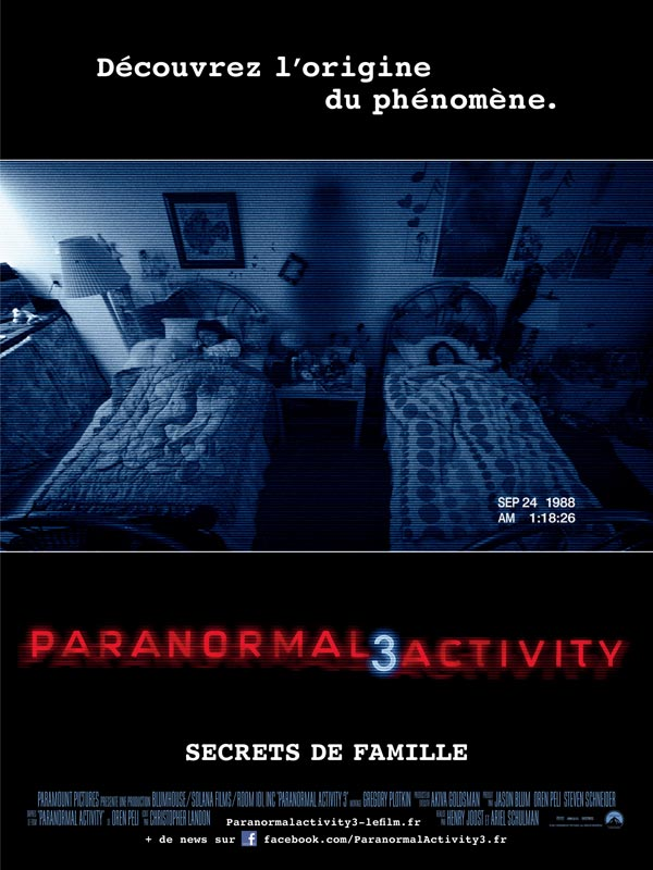 Paranormal Activity 3 streaming