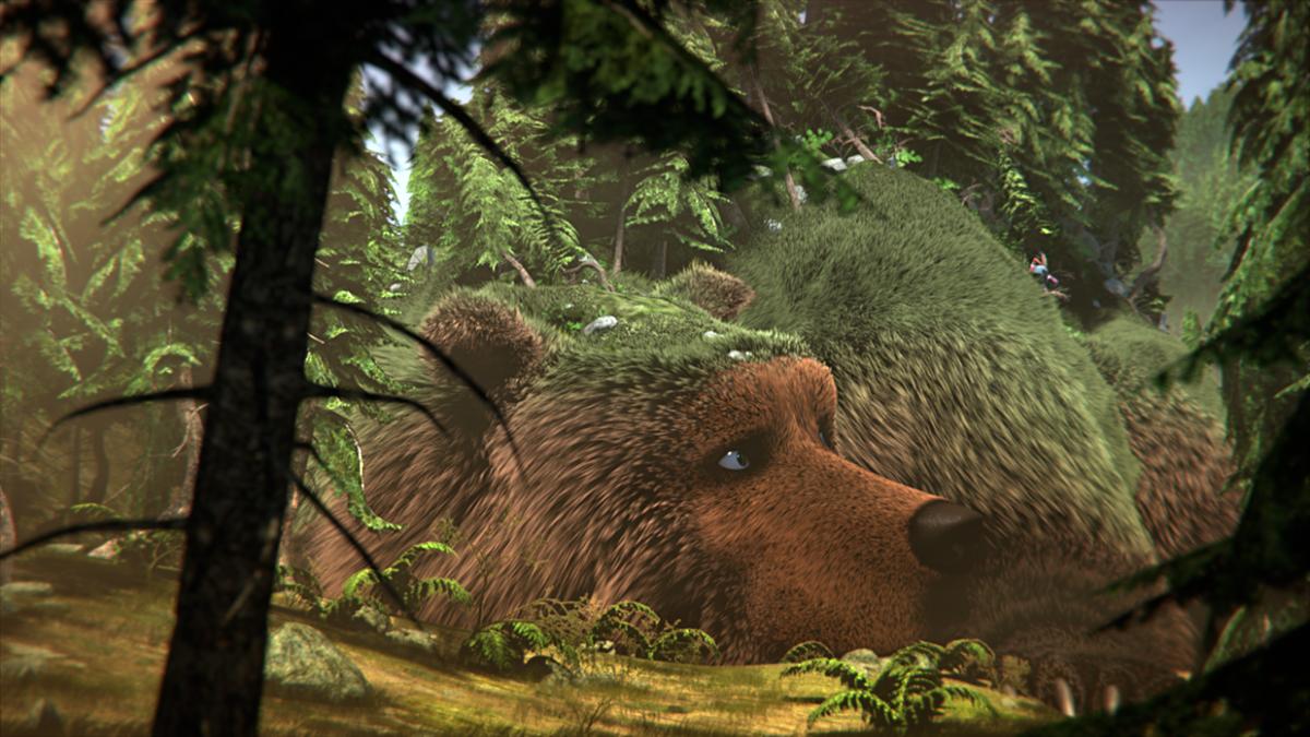 L'Ours Montagne : photo