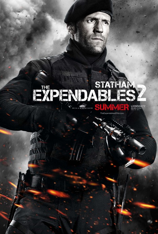 Expendables 2: unité spéciale : Affiche