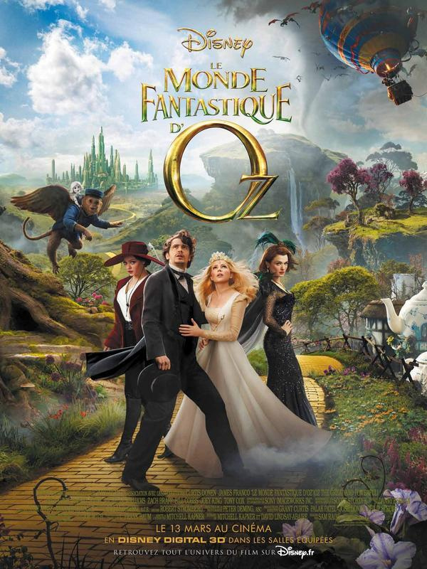 Le Monde fantastique d'Oz streaming