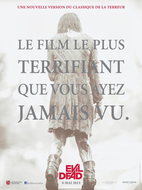 Affiche du film Evil Dead