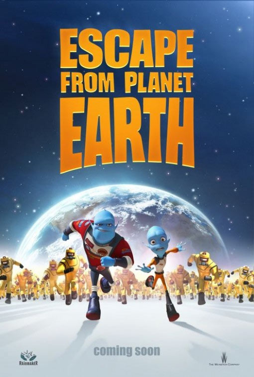 Escape from Planet Earth (2013) [Multi] [Blu-Ray 1080p 3D]
