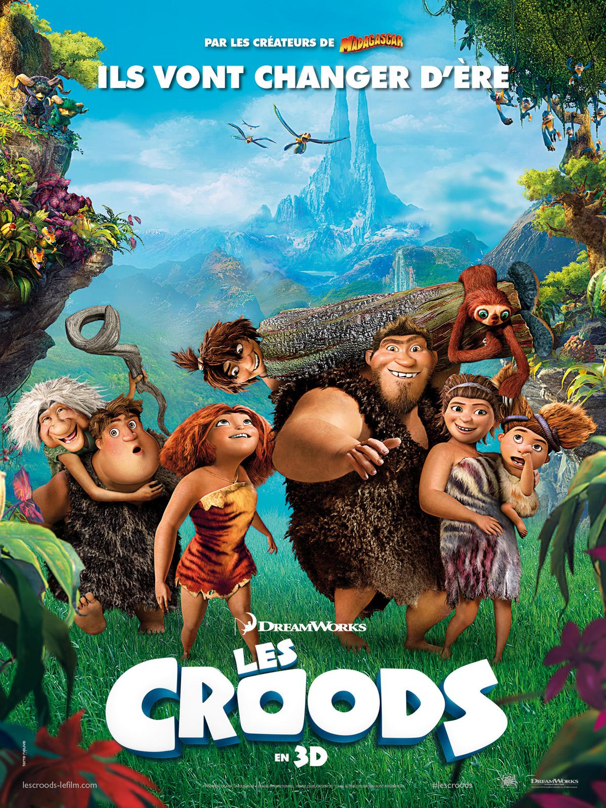 Horaires séances du film Les Croods à cournon d'auvergne