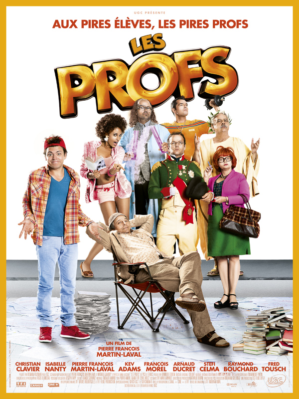 Les Profs | Multi | BDRiP 1CD | 2013