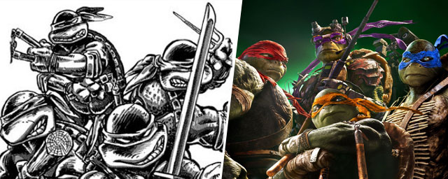 D o viennent les tortues ninja actus cin allocin - Voiture des tortues ninja ...