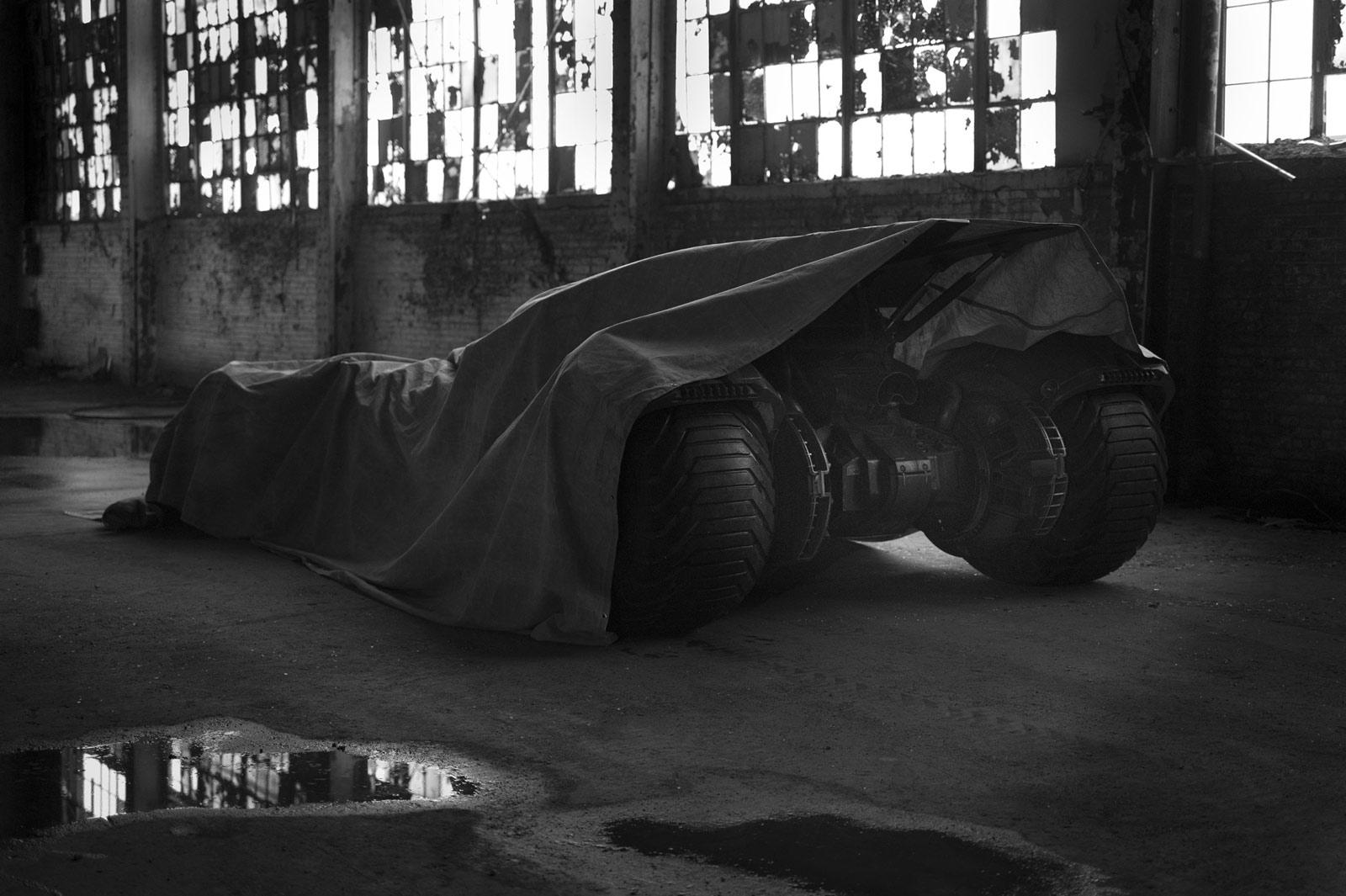Batman v Superman : dans les rouages de la Batmobile