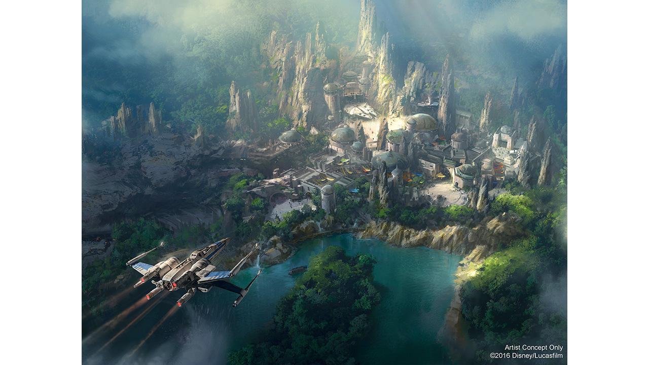Disneyland : Voici à quoi devrait ressembler le Star Wars Land