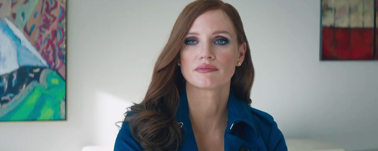 Bande-annonce Molly's Game : Jessica Chastain en pro du poker chez Aaron Sorkin