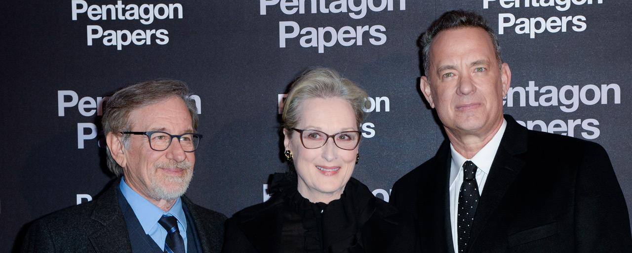 Avant-première Pentagon Papers : Steven Spielberg, Meryl Streep et Tom Hanks ont fait vibrer Paris
