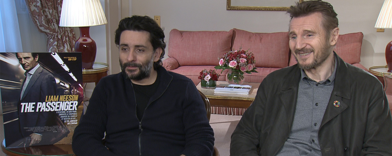 """The Passenger : Liam Neeson fait une """"confiance professionnelle aveugle"""" à Jaume Collet-Serra [INTERVIEW]"""