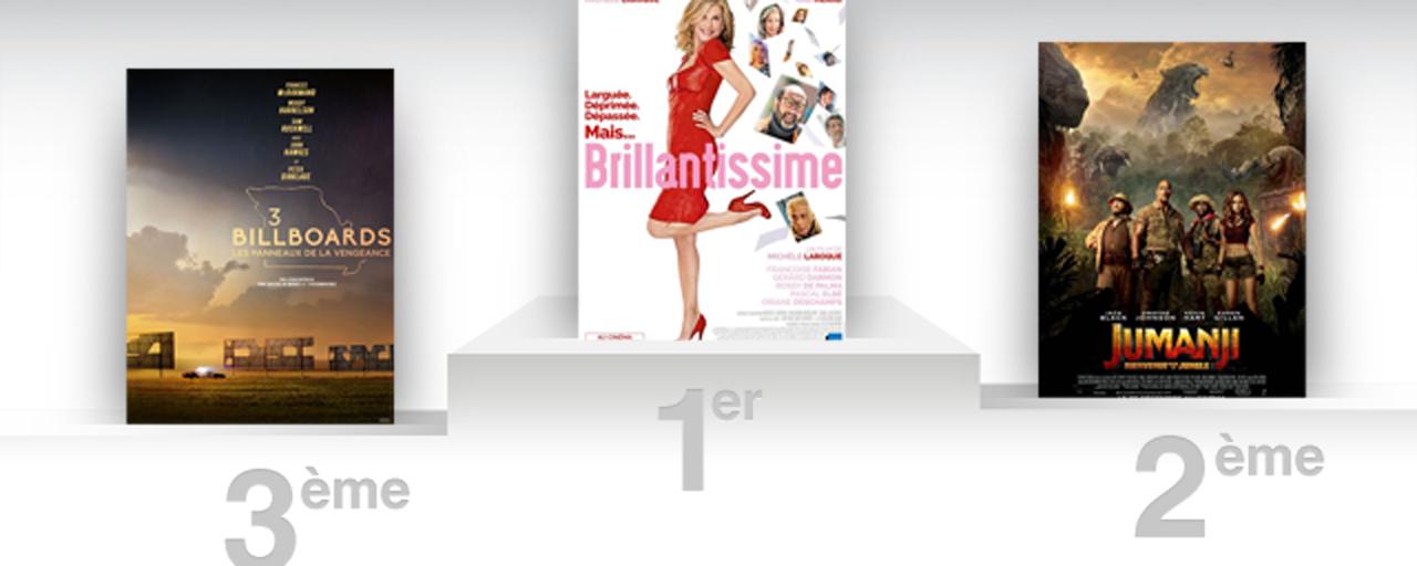 Box office france brillantissime emm ne mich le laroque sur la premi re marche du podium - Allocine box office france ...