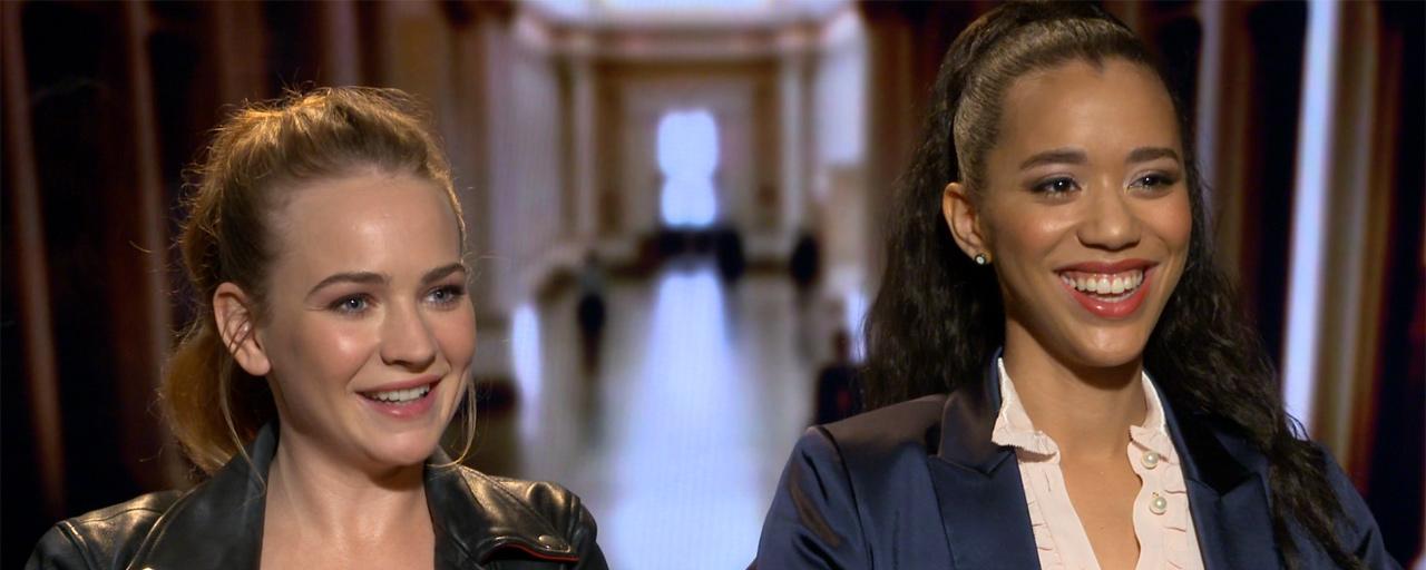 For the People sur Canal+ Séries : Britt Robertson et Jasmin Savoy Brown nous présentent le Grey's Anatomy des séries judiciaires