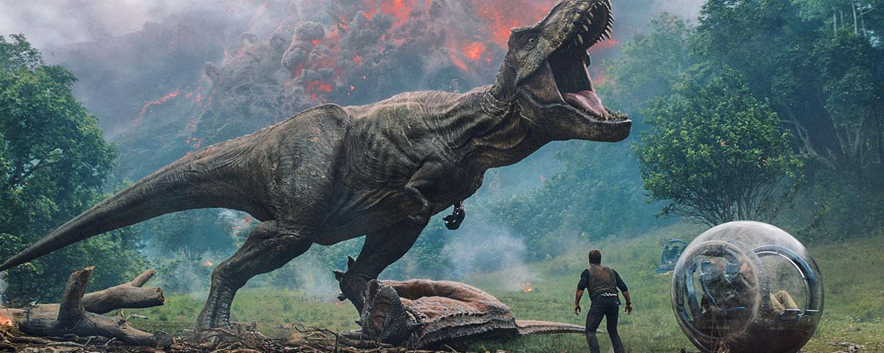 Chris Pratt face à un Indoraptor, Denzel Washington de retour pour casser des bras, ... Les bandes-annonces à ne pas rater