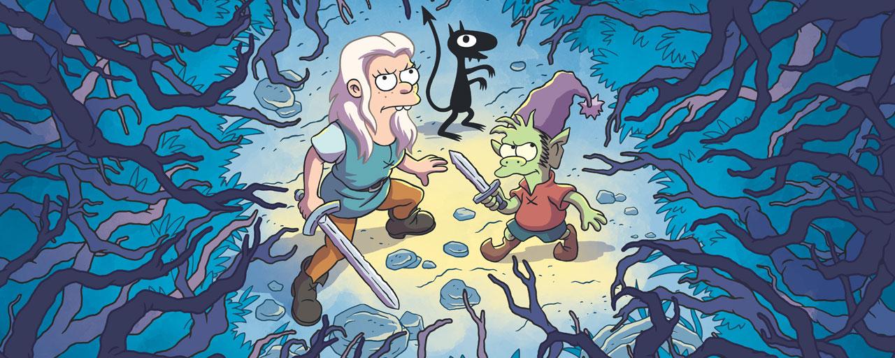 Disenchantment : premier aperçu de la nouvelle série du créateur des Simpson pour Netflix [MISE A JOUR]