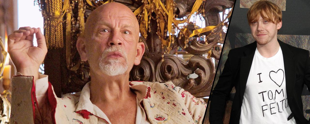 John Malkovich sera Hercule Poirot face à Rupert Grint pour la BBC