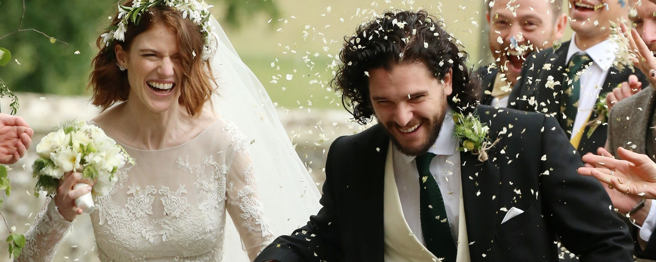 Game of Thrones : Kit Harington et Rose Leslie se sont mariés [PHOTOS]