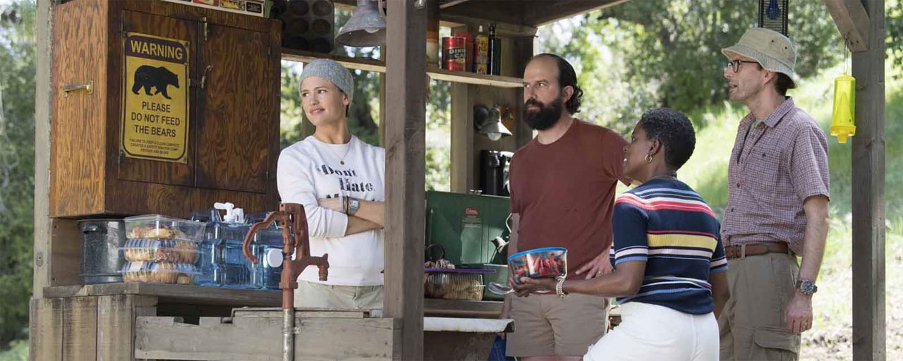 Campingen US+24 sur OCS : un week-end cauchemardesque pour Jennifer Garner et David Tennant