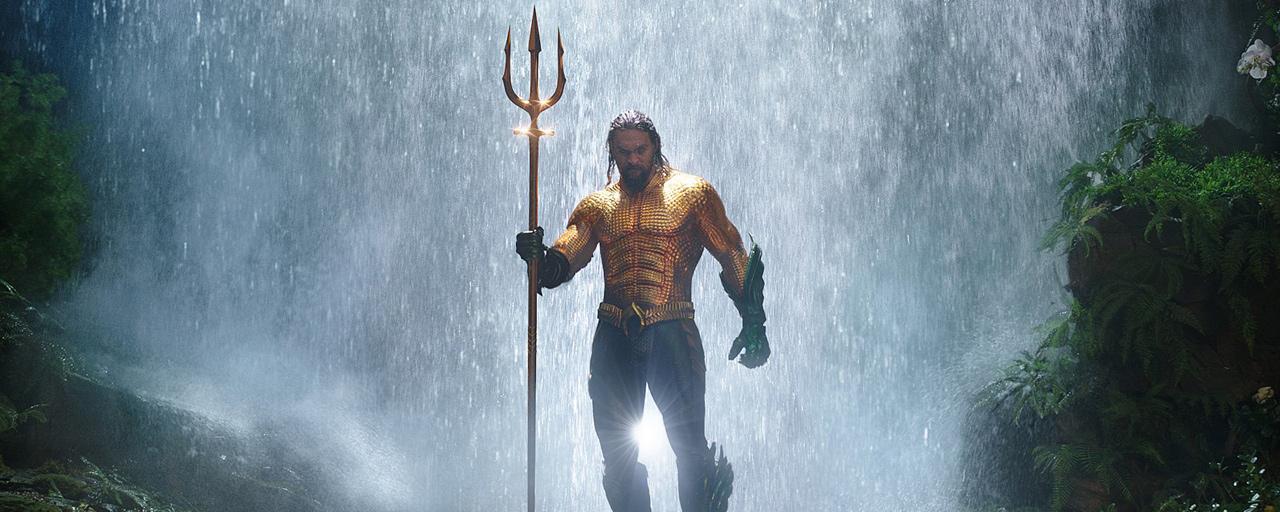 Aquaman et les personnages du film DC Comics plongent sur les affiches sous-marines