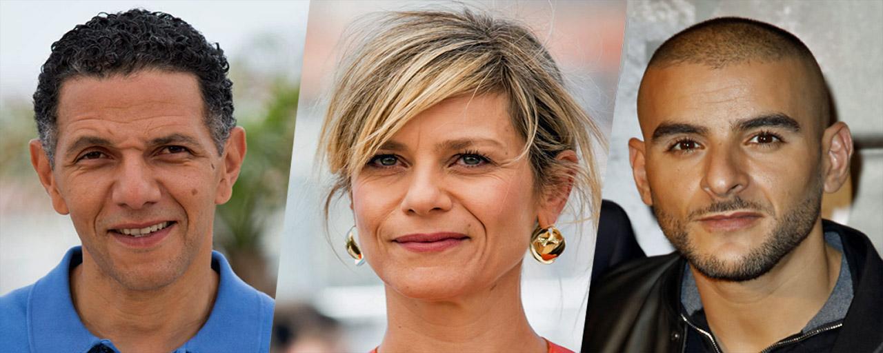 """Roschdy Zem, Marina Foïs, Amira Casar et Sofiane au casting de la série """"Les Sauvages"""" pour Canal+"""