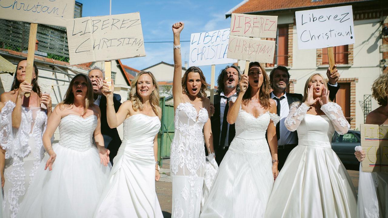 Photos Les Mystères de l'amour le prime : tous les acteurs d'AB en tenue de mariage