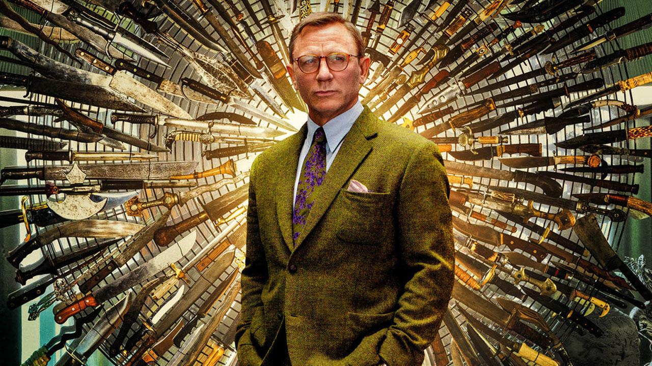 Affiches À couteaux tirés : Daniel Craig et Chris Evans en tweed pour le réalisateur de Star Wars 8